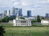Greenwich park in London — Stock Photo