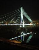 The night bridge — Stock Photo