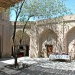 Internal a court yard in ancient Khoresm — Stockfoto
