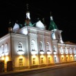 Orthodox church at night — Stock Photo