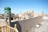 Life of the ancient city of Khiva — Stock Photo