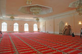 Inside of a mosque — Stock Photo