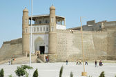 Ancient fortress in Bukhara — Stock Photo