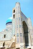 Facade ancient ruined mosque — Stock Photo