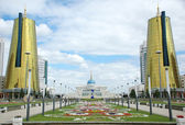 The governmental complex in Astana — Stock Photo