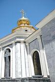 The main orthodox temple of Tashkent — Stock Photo
