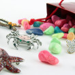 Costume jewellery - Stock Photo