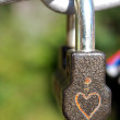 Lock love — Stock Photo