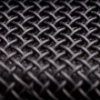 Macro of microphone — Stock Photo