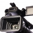 Stock Photo: Professional video camcorder