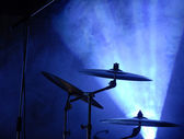 Cymbals set — Stock Photo