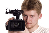 Video operator — Stock Photo
