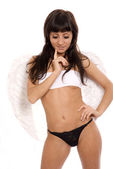 Sexy angel — Stock Photo