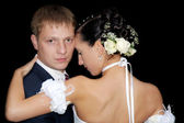 Wedding tango — Stock Photo