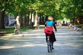 Faire du vélo — Photo
