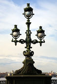 Lantern on Trinity Bridge — Stock Photo