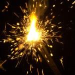 Sparks — Stock Photo