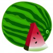 Royalty-Free Stock Vector Image: Watermelon