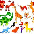 Royalty-Free Stock Vector Image: Funny animals