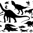 Stock Vector: Collection of reptiles