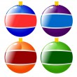 Royalty-Free Stock Vector Image: Christmas tree decoration
