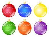 Christmas tree decoration — Stock Vector