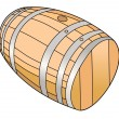 Stock Vector: Barrel
