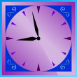 Vector de stock : Clock