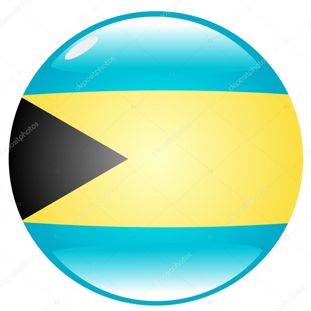 Button Bahamas  Stock Vector #1378406