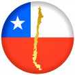 Stock Vector: Button Chile