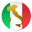 Button Italy - Stock Vector