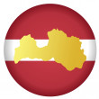 Stock Vector: Button Latvia