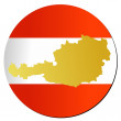 Stock Vector: Button Austria