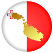 Stock Vector: Button Malta