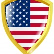 Royalty-Free Stock Vector Image: Emblem of USA