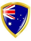 オーストラリアの国章 — ストックベクタ