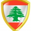 Stock Vector: Emblem of Lebanon