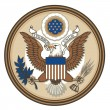 Stock Vector: Great Seal of United States of America