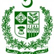 Stock Vector: Coat of arms Pakistan