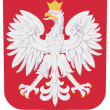 Coat of arms of Poland — Stock Vector