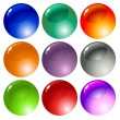 Colored buttons — Stock Vector #1496429