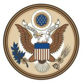 Great Seal of United States of America — Stock Vector