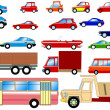 Collection of cars — Stock Vector #1502413