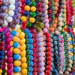 Stock Photo: Varicolored beads