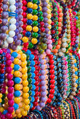 Varicolored beads — Stock Photo