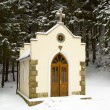 Forested chapel — Stock Photo #1306831
