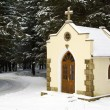 Forested chapel — Stock Photo #1306841
