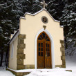 Stock Photo: Forested chapel