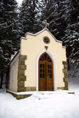 Forested chapel — Stock Photo