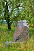 Stone boulder — Stock Photo